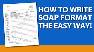 Writing Counselling Session Notes How To Write Soap Format For Mental Health Counselors
