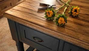 reclaimed wood butcher block countertops in