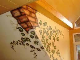 airbrush wandgestaltung efeumotiv und wandaufbruch airbrush wandmalerei wandmalerei