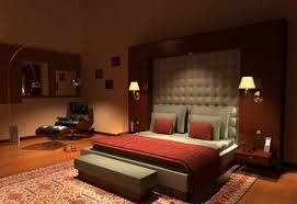Simple Interiors For Indian Homes Simple Design Master Bedroom With Red Walls Yellow Interior Ideas