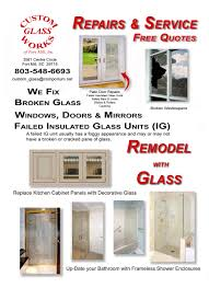Replace Broken Window Glass Custom Glass Works Of Fort Mill Sc Serving North And South Carolina