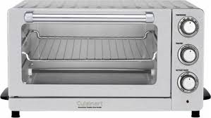 Best Convection Toaster Ovens Cuisinart 0 6 Cu Ft Convection Toaster Oven Multi Tob 60 Best Buy