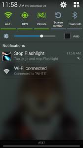 flashlight android turn on your android s flashlight using the power button samsung