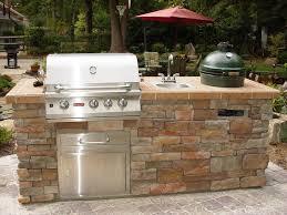 Custom Backyard Grills Cabinet Outdoor Kitchen Green Egg Custom Outdoor Cabinets For