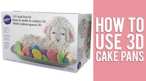 bunny cake mold how to use 3d cake pans to bake stand up cakes