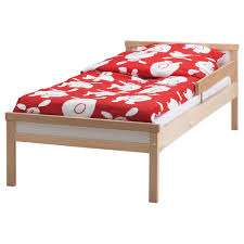 Beech Bed Frames Sniglar Bed Frame With Slatted Bed Base Beech 70x160 Cm Bed Ikea