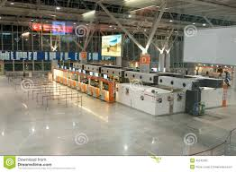 Warsaw Airport Map Check In Warsaw Airport Editorial Stock Photo Image 45242353