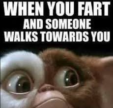 Funny Fart Memes - when you fart and someone walks towards you memes and comics