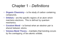 Definition Of Valance Chapter 1 Structure And Bonding Ppt Download