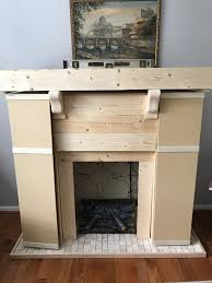 diy faux fireplace build pt 1 u2013 brandnewell design company