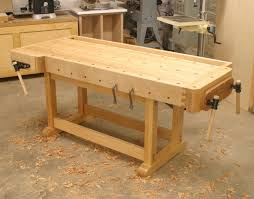 Plans For Building A Woodworking Bench by How To Make A Workbench Diy Best House Design