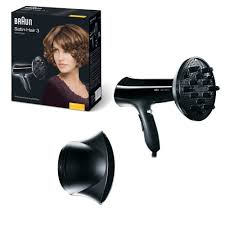 Hair Dryer Braun braun hd330 satin hair 3 diffuser hair dryer 1700 watts