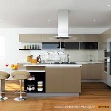 Lacquer Kitchen Cabinets by Op16 L14 Modern Stylish Black Matte Lacquer Kitchen Cabinet