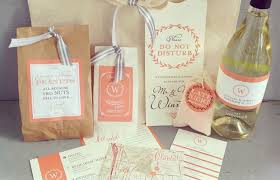 hotel welcome bags 9 ideas for a handy wedding welcome bag ahava weddings