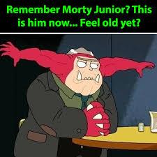 Feel Meme Pictures - rick and morty meme morty junior feel old yet on bingememe