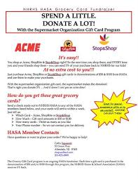 gift card fundraiser home school association hasa grocery card fundraiser ongoing