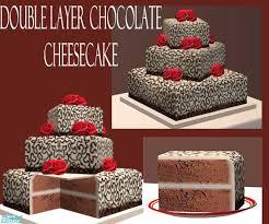 wedding cake the sims 4 eris3000 s chocolate mousse wedding cake sims 2 downloads custom