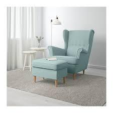 Chair With Ottoman Ikea Strandmon Ottoman Skiftebo Yellow Ikea