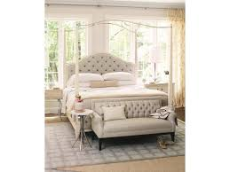 bernhardt savoy place queen customizable upholstered poster bed