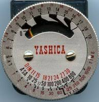 shoe light meter how do you read this meter yashica shoe mounted photography forum