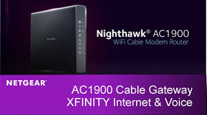 xfinity online light not on nighthawk wifi cable modem router with xfinity internet and voice