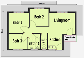 house plans 3 bedroom contemporary simple house plan with 3 bedrooms bedroom shoise
