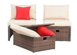 Ottoman Red by Pat2013a Outdoor Outdoor Home Furnishings Sun Loungers