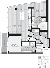 two bedroom apartment floor plans houston apartment rentals floor plans for aris market square