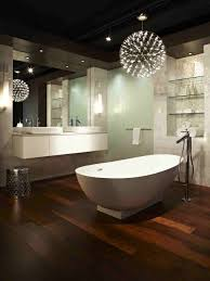 best lighting design ideas decorate bathrooms wood floor tiles modern bathroom and walls