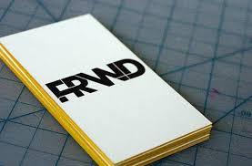 edge painting business cards u2022 edge colouring u2022 colour edging cards