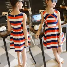 aliexpress com buy red white blue striped little teenage