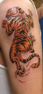 half sleeve tiger on half sleeve tattooshunt com