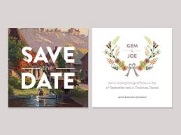 save the date designs 25 stunning save the date designs inspirationfeed