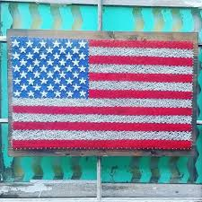 american flag string art large american flag sign string art