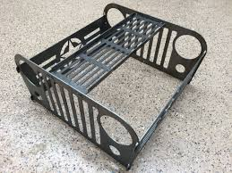 Fire Pit Ring With Grill by Jeep Fire Pit With Grill Grate Collapsible And Portable Fire Ring