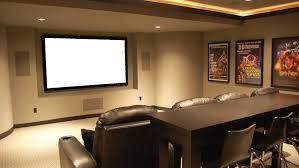 Projector Media Room - media rooms home theater