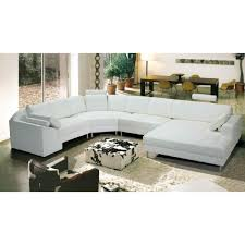 canapé cuir en u canapé d angle droit panoramique cuir blanc achat vente canapé