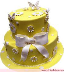 new jersey bride yellow wedding cake spring wedding cakes