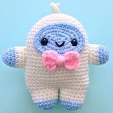 crochet pattern freddie yeti kawaii yeti kawaii crochet