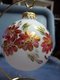 Ceramic Christmas Tree Decorations To Paint by 339 Best Painted Christmas Ornaments Images On Pinterest