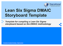 dmaic report template ppt lean six sigma dmaic report template