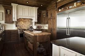 knotty alder walnut with black glaze cabinetry shiloh