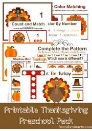 Thanksgiving Stories For Kindergarten Free Preschool Worksheets Thanksgiving Printable Sets Craft