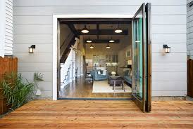 Patio Doors Folding Modern Patio Doors Contemporary Deck Patio Sutro Architects