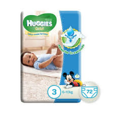 huggies gold huggies gold for size 3 6 10kg 72s fazak online