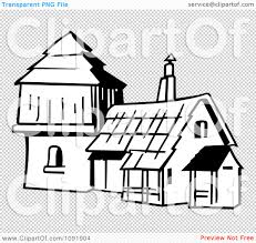 house outline clipart outline of an old fashioned house royalty free vector