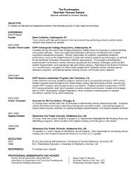 Facilitator Resume Sample Resume For Team Lead Position Free Resume Example And