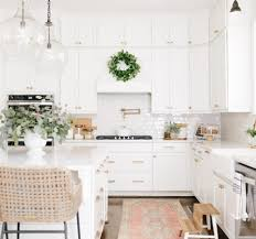 white kitchen cabinets with gold countertops how changing one thing can change everything in kitchens and
