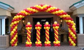 cuisine how to make a balloon arch balloon decoration ideas