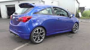 opel corsa 2004 blue vauxhall new corsa 3 door vxr 1 6t 205ps u101995 youtube